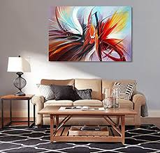 abstract handmade painting modern contemporary amazon com abstract canvas wall handmade modern painting