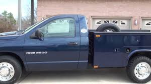 hd video 2005 dodge ram 2500 utility wrok truck for sale hemi see