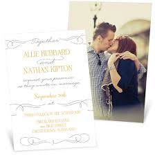 wedding invitations with photos wedding invitations custom designs from pear tree