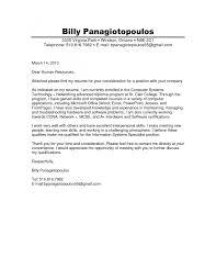 end cover letter format