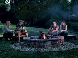 how to build a fire pit outdoor fire pit ideas u0026 designs