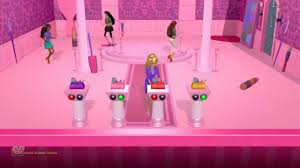 barbie dreamhouse party game walkthrough make up room mini game