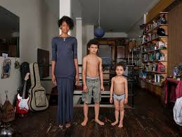 photographer captures the future with mixed race family portrait