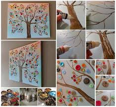 100 make wall decorations at home diy inexpensive home