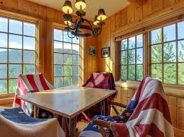 lakefront cabin style home w views covered porch u0026 dock walk to