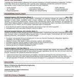 resume manufacturing resume keywords engineer cover letter