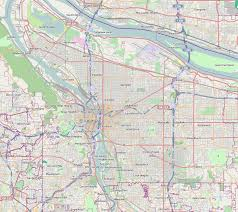 Portland Bike Map by Lloyd District Portland Oregon Wikipedia