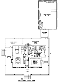 3 Bedroom 2 Story House Plans Southern Style House Plan 3 Beds 3 00 Baths 2300 Sq Ft Plan 81