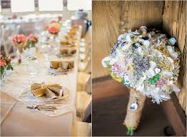 unique country wedding table decorations with rustic vintage