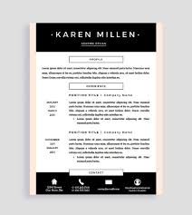 Resume Templates For Mac Resume Templates For Mac Creative Resume Template And Cover