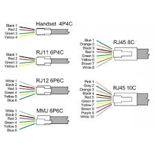 rj11 connector wiring diagram wiring diagram and schematic