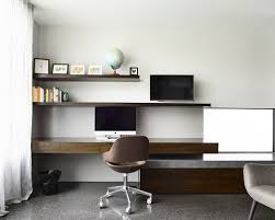 Wonderful Contemporary Home Office Design  And - Contemporary home office designs