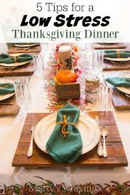 5 tips for a low stress thanksgiving dinner marty s musings