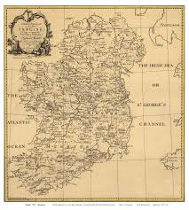 Vintage Maps Old Maps Of Ireland