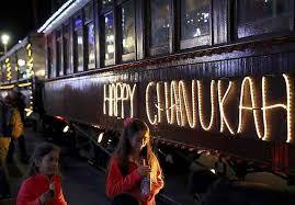 hanukkah lights decorations hanukkah hauls santa s festival of lights