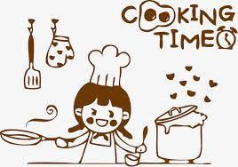 cuisine dessin animé joli dessin vectoriel cuisinier cuisine joli dessin de dessin