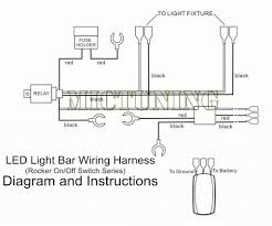 Led Light Bar Installation by Amazon Com Mictuning 12ft Led Light Bar Wiring Harness 40amp