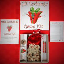 holiday gift exchange games printable games partyideapros com