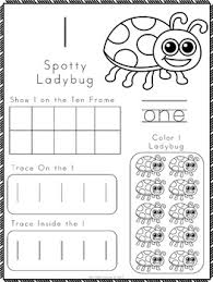 numbers 1 10 worksheets and number posters by my little lesson tpt