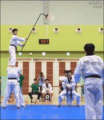 imagenes gif karate share this amazing karate chop animated gif with everyone gif4share