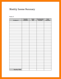 How To A Spreadsheet For Monthly Bills 7 Monthly Expenses Template Monthly Bills Template