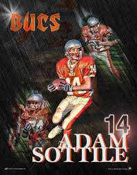 engraved football gifts custom football poster player gifts custom sports posters