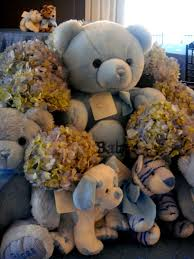 Teddy Bear Centerpieces by Special Event Christening For David Daniel Otunga Jr