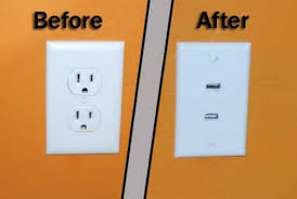 Outlet Wall Outlet Concept Gets Usb Ports Slipperybrick Com