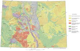 County Map Of Colorado by Downloads