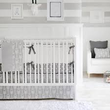 Nursery Bed Sets Out And About Gray Crib Bedding Set Rosenberryrooms