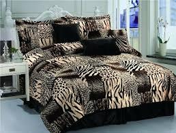 Leopard Print Duvet Animal Print Bedding Sets Comforters Sheets And More