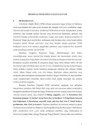 format proposal disertasi ugm 1 pedoman penulisan proposal pu ugm