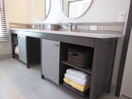 Custom Built Bathroom Vanities Custom Built Contemporary Bathroom Vanity Senn U0027s Custom Cabinets