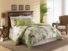 tropical bedroom decorating ideas themed bedrooms for adults green palm trees comforter sets