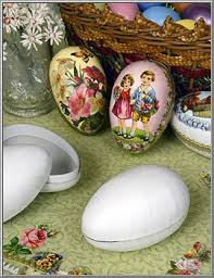 paper mache egg box easter shop white paper mache craft egg box from germany d