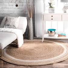 Round Natural Fiber Rug Natural Fiber Rugs Basket Weave Natural And Bleach Rug Sisal