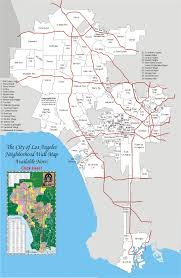 Las Vegas Zip Codes Map by City Of Los Angeles Map Larger View Things Pinterest Los