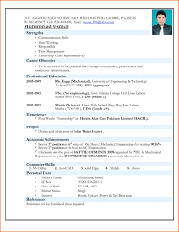curriculum vitae format for freshers pdf resume format for engineering freshers pdf resume for study