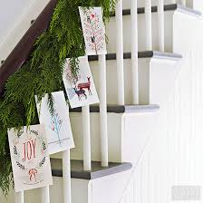 christmas card display ideas