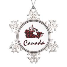 20 canadian pewter snowflake ornaments zazzle ca