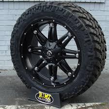 Off Road Wheel And Tire Packages 18x9 Fuel Hostage D531 Wheels Matte Black Machined W Nitto Trail