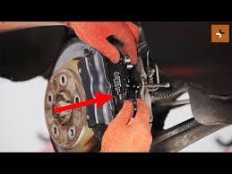 audi q7 brake pad replacement how to change a rear brake pads audi q7 4l tutorial autodoc