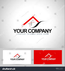 house logo design architecture concept business stock vector