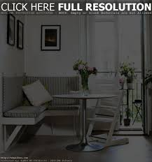 dining room with bench seating bench decoration