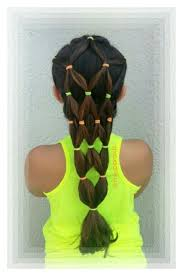 hairstyles with one elastic elastics hairstyle summer hairdo hair pinterest summer