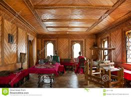 traditional home interior russian aristocracy editorial stock
