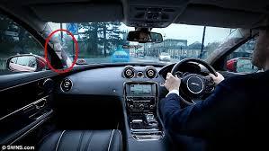 Driving Blind Spot Check Jaguar Car Gives Drivers 360 Vision Thanks To Cameras That Make