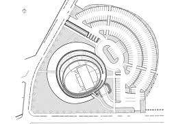 architectural design plans gallery of akiha ward cultural center chiaki arai and