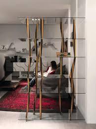 it original design bookcase walnut glass crystal by corner