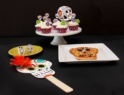 easy day of the dead party ideas food and crafts growing up